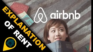 Explanation of rent in the site airbnb