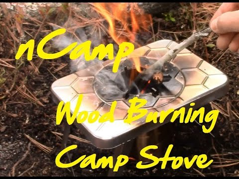 nCamp Wood Burning Camp Stove - Intial Thoughts