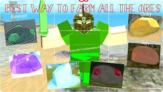 ROBLOX Booga Booga | THE BEST PLACES TO FARM ALL THE ORES IN BOOGA BOOGA!!!