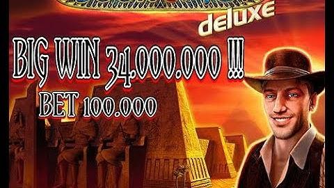 BIG WIN!!! Book Of Ra Deluxe Novomatic GameTwist