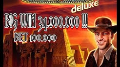 BIG WIN!!! Book Of Ra Deluxe Novomatic GameTwist