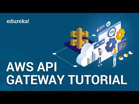 AWS API Gateway Tutorial | How to Create REST API With API Gateway | AWS Training | Edureka