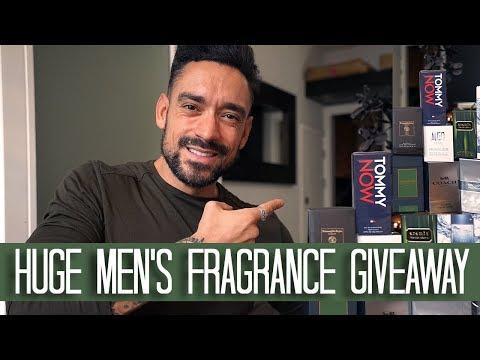 Huge Men's Fragrance Giveaway | 1 Lucky Winner | Carl Thompson