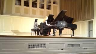 Bethany Taylor plays Mozart Concerto No. 20 D minor K. 466