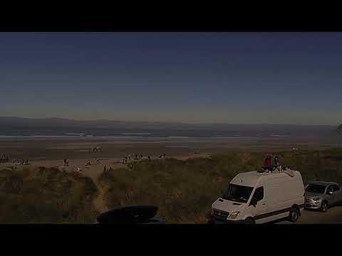 Timelapse of the Great American Eclipse: Manzanita, Oregon Cam
