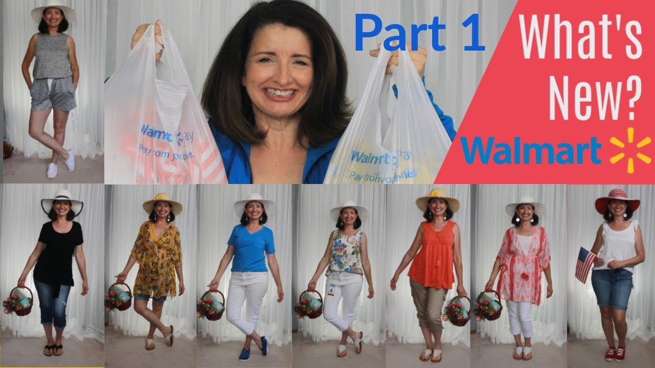 36ee9c8ad1b Repeat Walmart Summer Haul & Try On Whats New Part 1 by Theresa Rene 360 -  You2Repeat