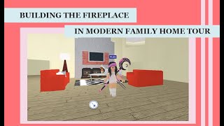 Meep City | Building The Fireplace In Modern Family Home