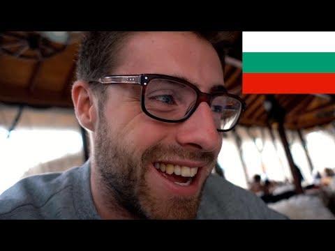 TOURIST TASTES BULGARIAN TRIPE SOUP (TRAVEL PLOVDIV, BULGARIA)