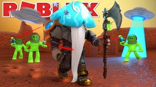 MARTIAN ATTACK! - Roblox Time Travel Adventures Mission To Mars