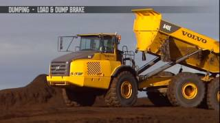 Volvo Dump Truck - Dumping