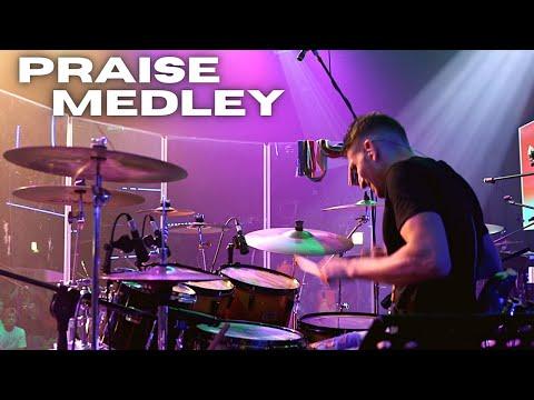 Praise Medley - Live drum cover by Jon Lombana