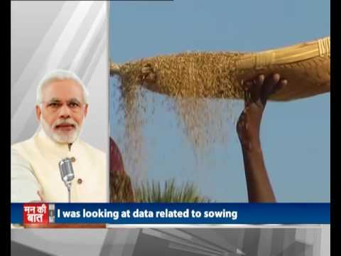 I salute our farmers for standing tall and adjusting to changes in economy the sowing season : PM