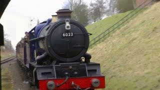 GCR,2013,HD,Steam,King Edward II,6023,GWR 3803,England,UK,1080p