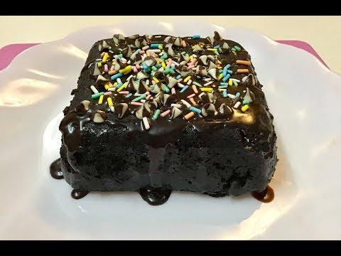 2 Minutes Chocolate Cake Recipe || Quick Dessert For Kids