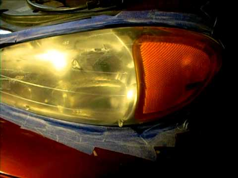 2002 pontiac grand am headlight refurb youtube. Black Bedroom Furniture Sets. Home Design Ideas