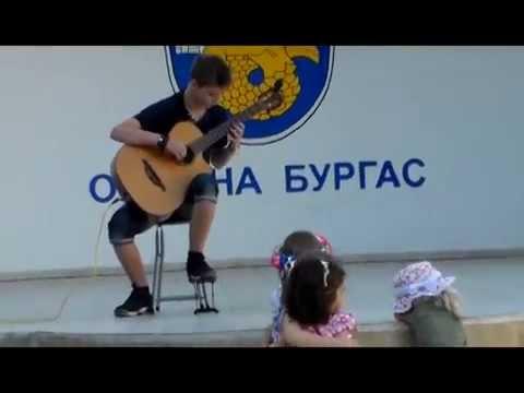 ПОНТИЙСКАЯ АРЕНА 2014. Открытие в Сарафово. Концерт в Бургасе.