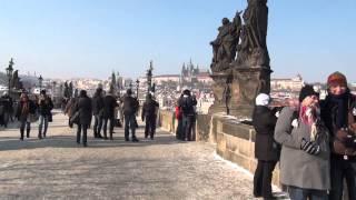 カレル橋散策 チェコで楽しむ チェコ留学 プラハ城 チェコ文化 チェコ風俗 プラハの観光地 カレル橋 Charles Bridge praha