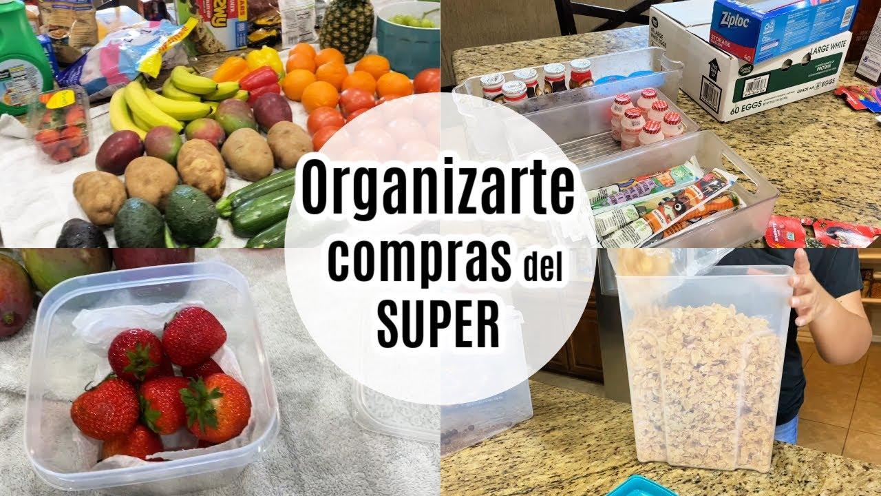 IDEAS PARA ORGANIZAR la COMPRA del MERCADO/ COMPRAS del Super