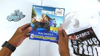 """PlayStation 4 Controller """"Royale Bomber"""" Skin (Fortnite Bonus Content Bundle - 500 VBUCKS )"""
