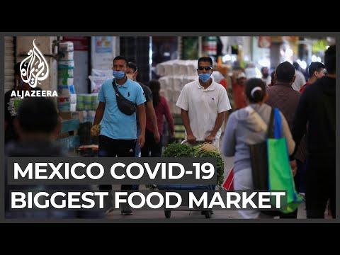 Mexico City's biggest food market becomes COVID-19 hotspot