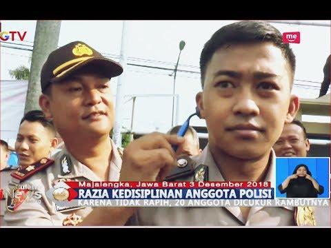 Puluhan Anggota Polres Majalengka Terjaring Razia Cukur Rambut dan Jambang - BIS 03/12
