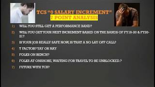 """TCS """"0"""" Salary Increment  