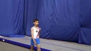 """Акробатика. Прыжки по 1 юношескому разряду, мальчики, 2 группа. Звенигород, """"Звезда"""", 22.05.2016"""