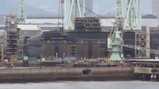 潜水艦造船所をじっくりガン見! thumbnail
