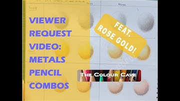 Precious Metals Pencil Combos in Prisma & Polys