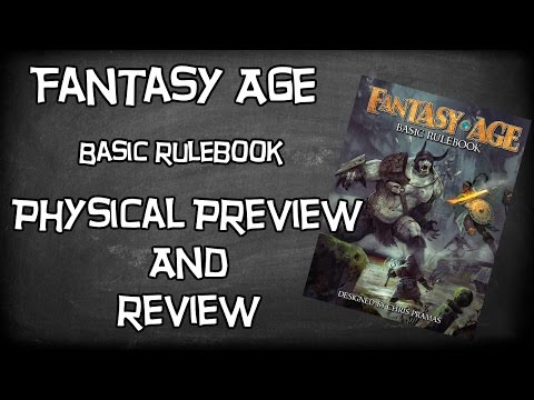 Fantasy Age Role-Playing Game Basic Rulebook By Chris Pramas Physical Review, Titans Grave