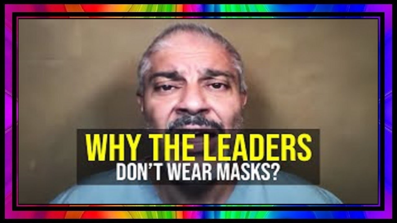 Only A Few Know About The Side Effects ~ Why The Leaders Don't Wear Masks.