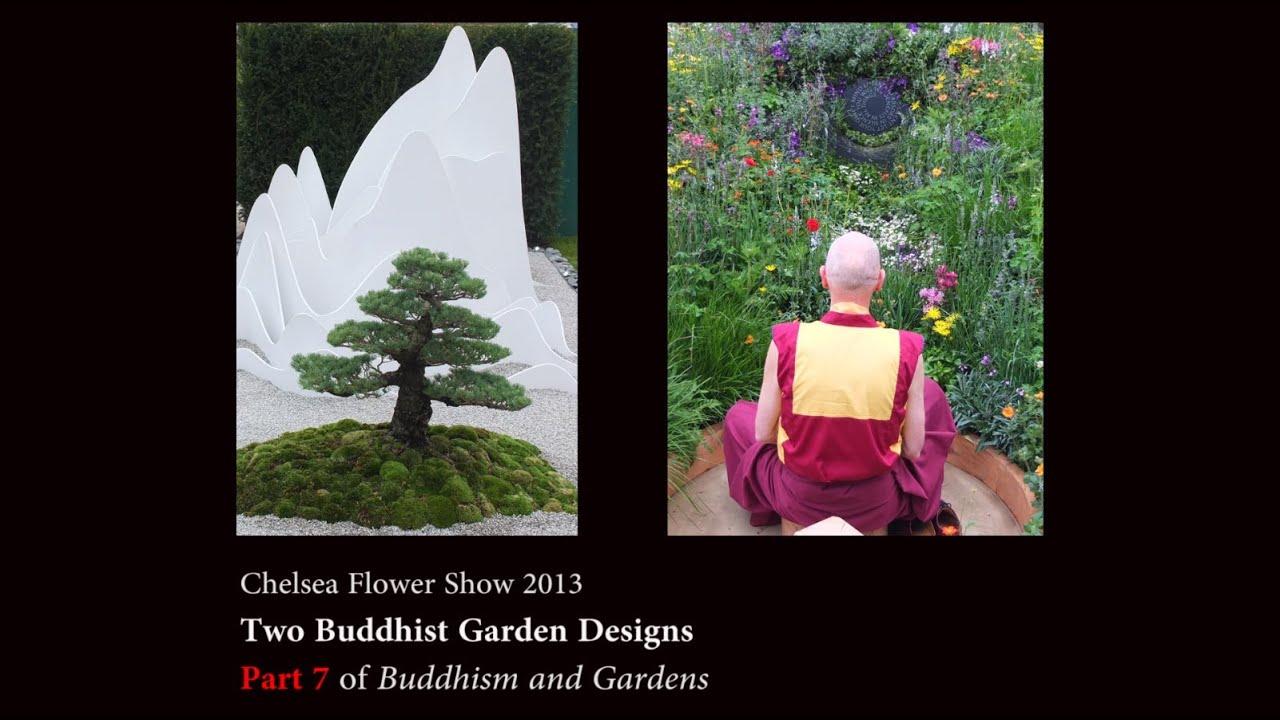 Modern Buddhist Garden Design At The 2013 Chelsea Flower Show