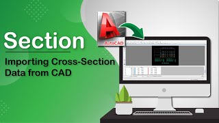 cad import for cross section drawing