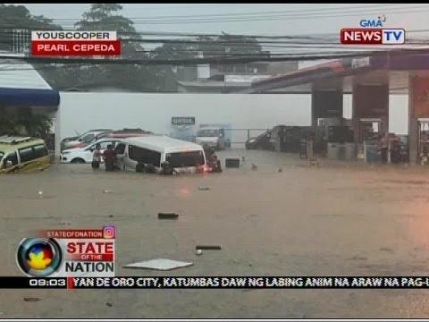 SONA: Tatlo, nasawi sa baha sa Cagayan de Oro City