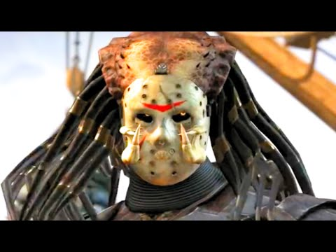 Mortal Kombat X Predator Performs All Character Victory Celebrations