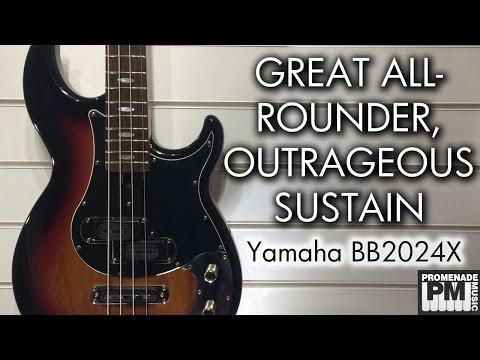 Sustain for days! - Yamaha BB2024X Demo