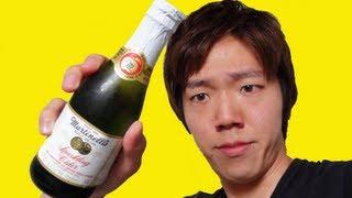 伝説級に美味い炭酸りんごジュース!Martinelli's Sparkling Cider!