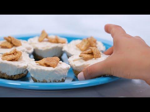 Shipt Recipes: No Bake Cinnamon Toast Crunch Cheesecake Cupcakes