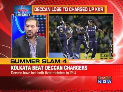 Kallis shines as Knight Riders open account in IPL IV