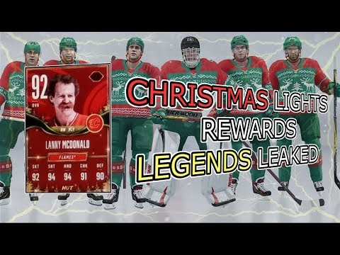 NHL 18 HUT | Christmas Legends Rewards Leaked