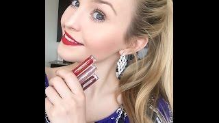 Stila - Eternal Love Liquid Lipstick Set Review & Swatches!