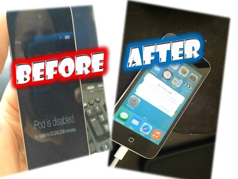"""How to fix I pod is disabled """"try again in 23 million min"""""""