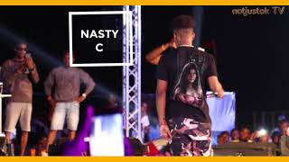 Nasty C Storms Lagos, Performs Biggest Hits at #AfroBeachRave