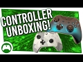 Ocean Shadow and Winter Forces Xbox Controller Unboxing!