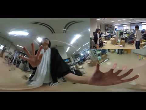 BallCam 360: Synthesizing Fixed Point of Views from a Spinning Omnidirectional Ball Camera