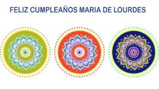 MariadeLourdes   Indian Designs - Happy Birthday