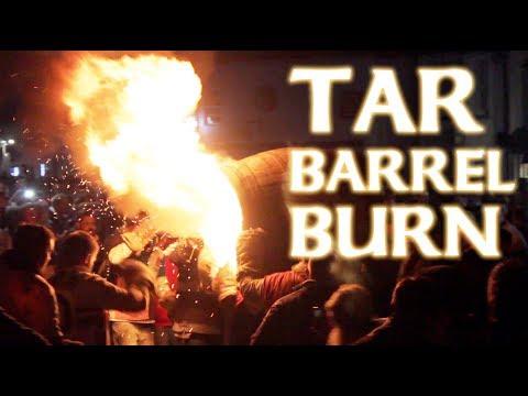 Flaming Tar Barrels - Crazy English Folk Tradition, Ottery 2018