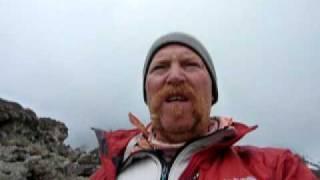 Day Six on Mount Kilimanjaro, Man leaves Arrow Glacier with Altitude Sickness