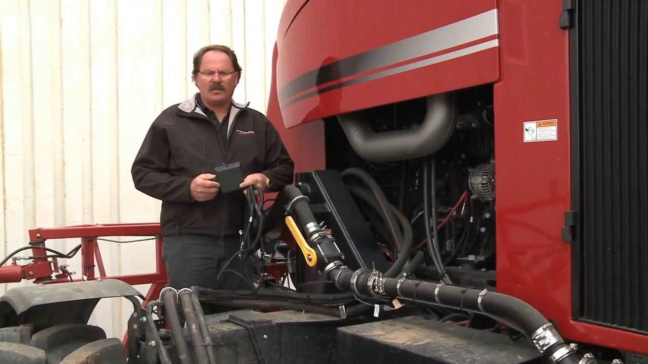 How to install a STEINBAUER Performance Power Module on sprayers