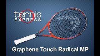 HEAD Graphene Touch Radical MP Tennis Racquet Review | Tennis Express